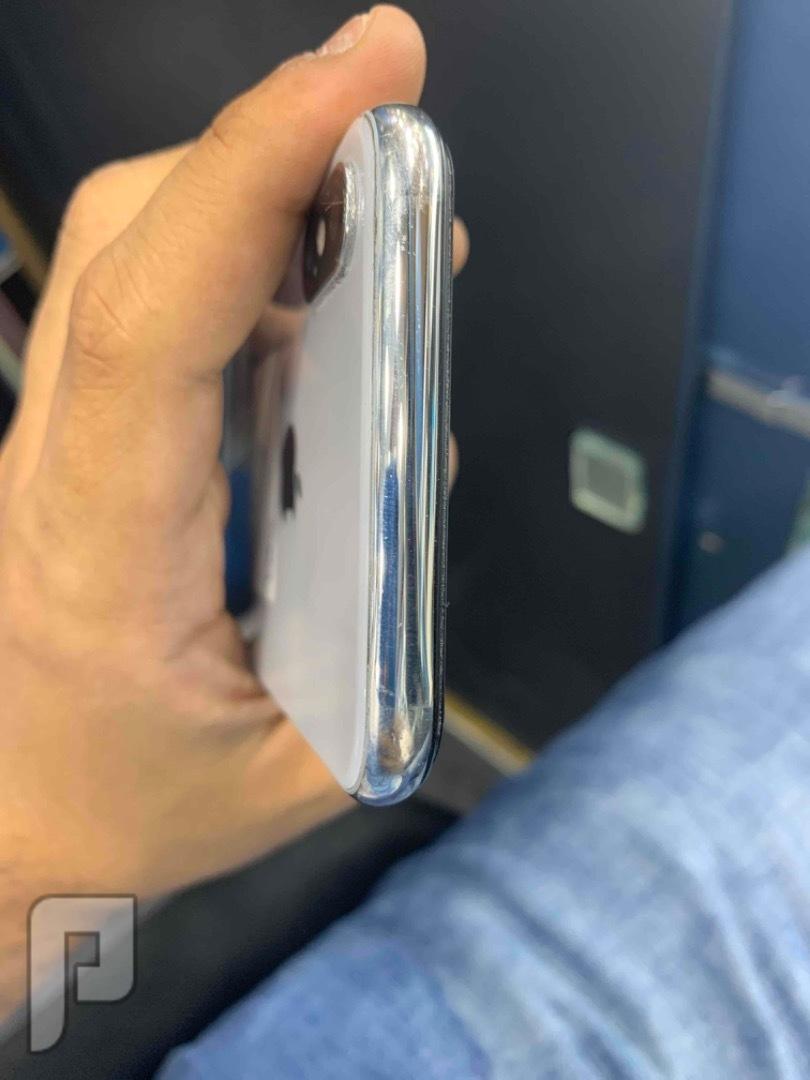 للبيع ايفون اكس 256 ابيض مستخدم نظيف