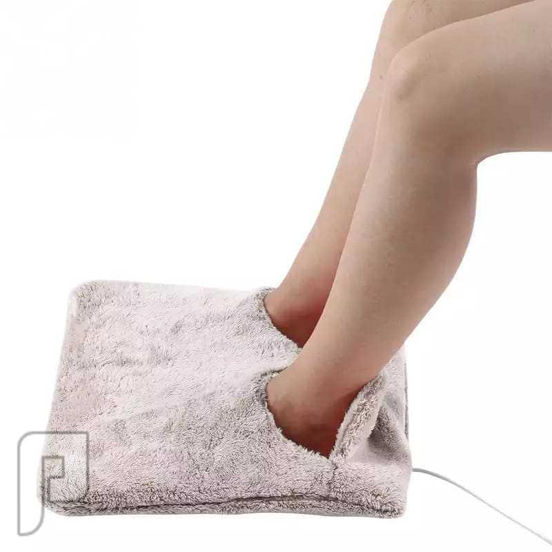 وسادة كهربائية لتدفئة القدمين
