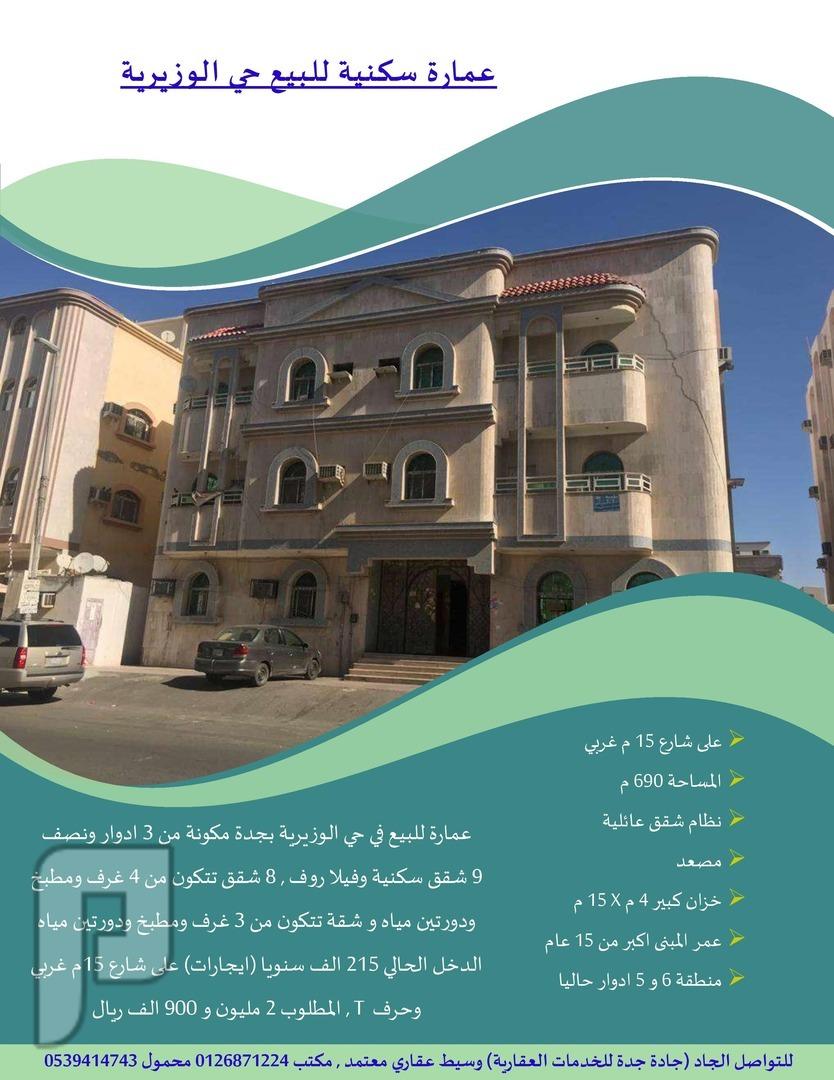 عمارة سكنية حي الوزيرية