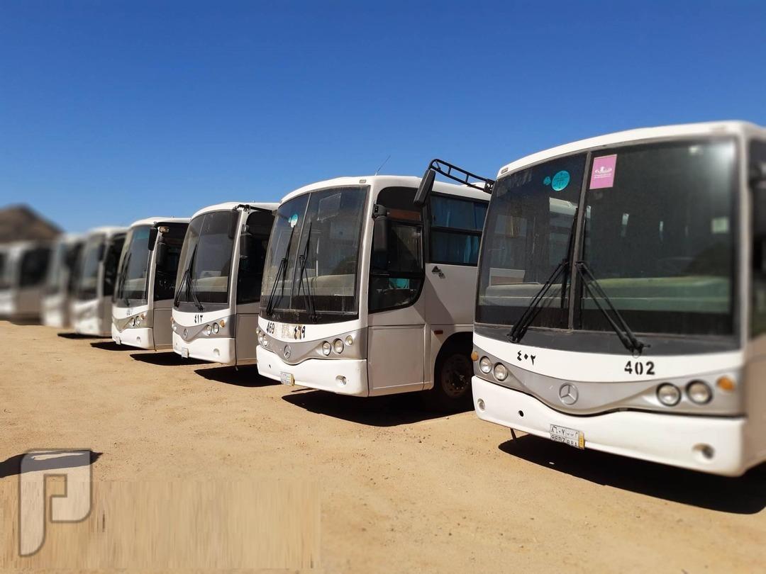 حافلات بحالة جيدة جدا للبيع