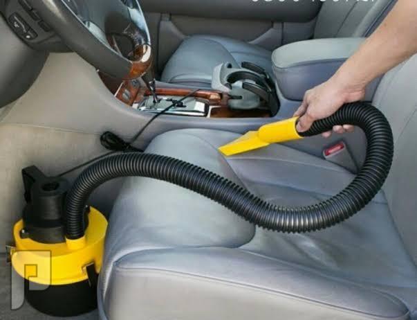 مكنسة برميل لتنظيف السيارة بقوة 120 واط