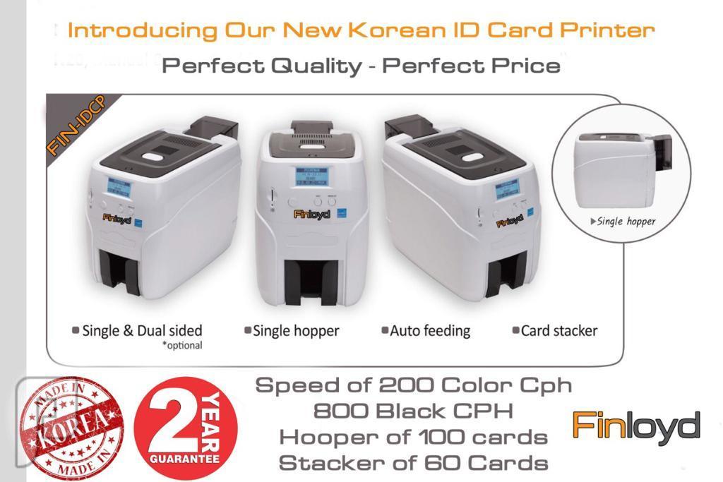 طابعة كروت بلاستيكية - Finloyd Card Printer