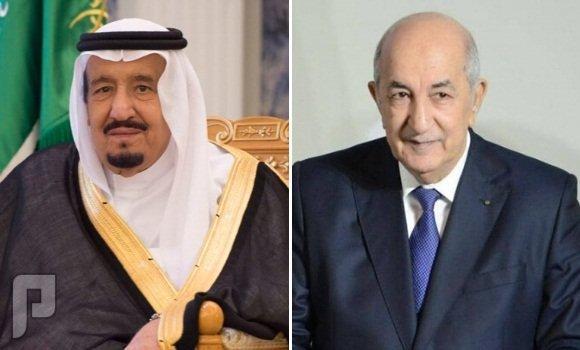 دعوة من خادم الحرمين الشريفين للرئيس الجزائري