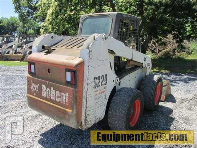 IT#30-2005 Bobcat S220 Skid Steer Loader