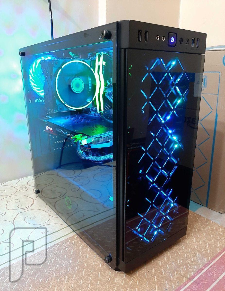 قيمينق كمبيوتر Intel i5 8600k GTX 1080 RGB Gaming PC