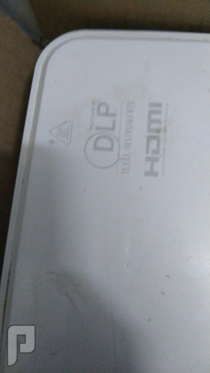 بروجكتر للبيع مستخدم بدون كرتون ولا ريموت 850ريال