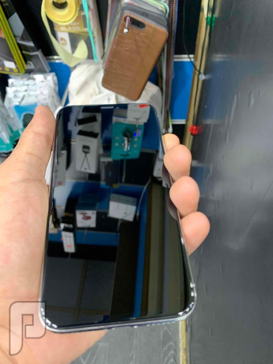 للبيع ايفون اكس 256 ابيض مستعمل نظيف
