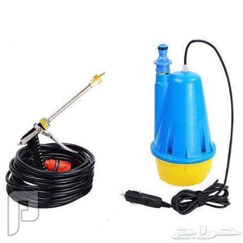مضخة ماء للسيارة والمنزل ومحول كهرباء للسيارة