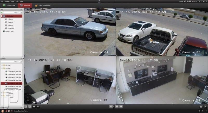 كاميرات مراقبه عرض خاص ولفترة محدوده