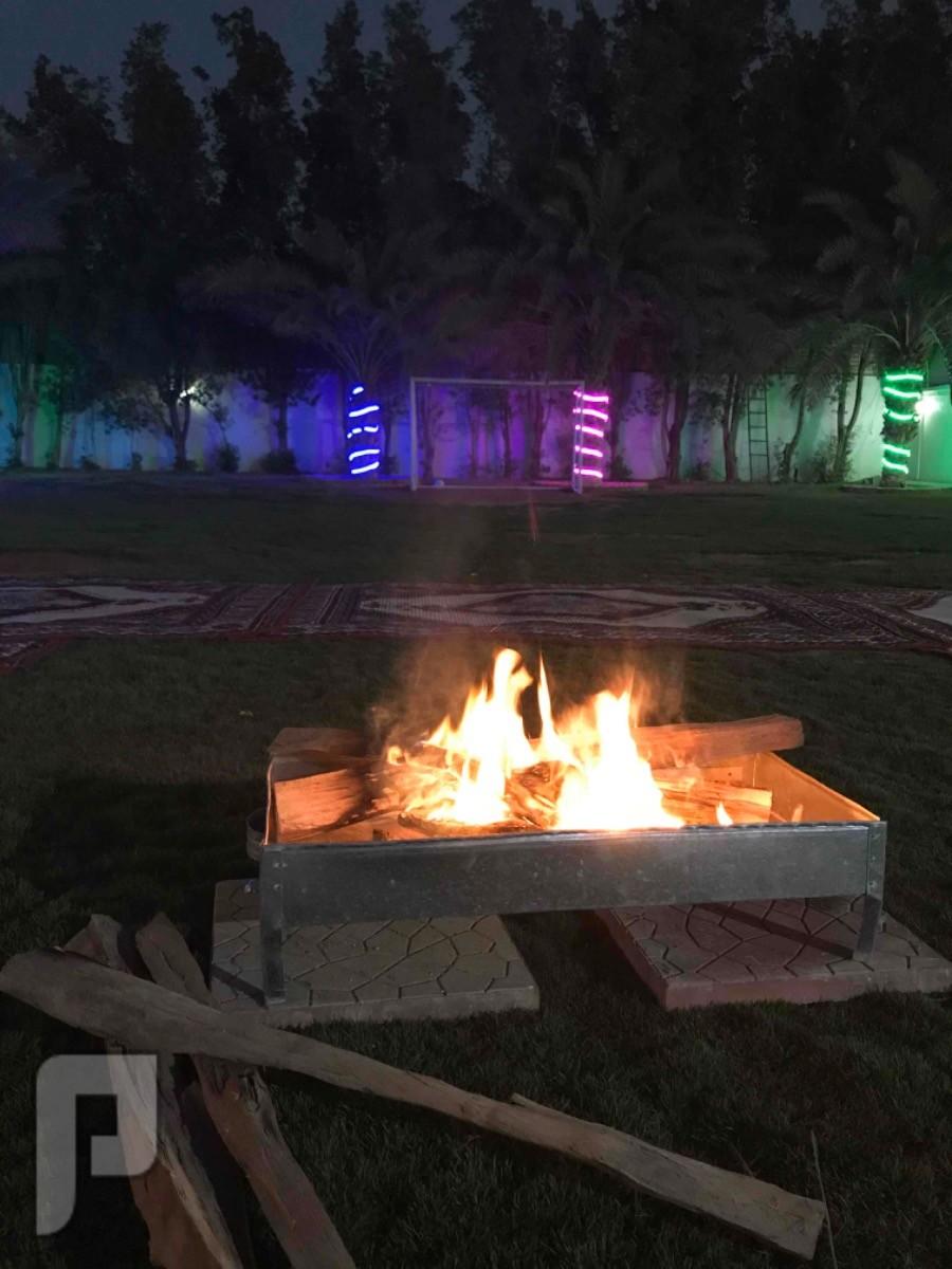 استراحة شمال الرياض قسمين ( استراحة النجوم )