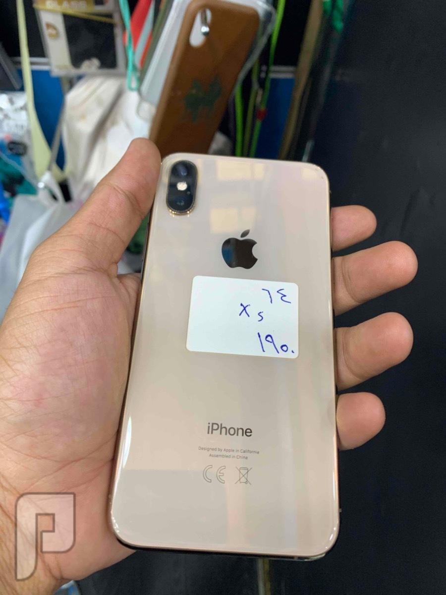 للبيع ايفون اكس اس ذهبي 64 مستخدم