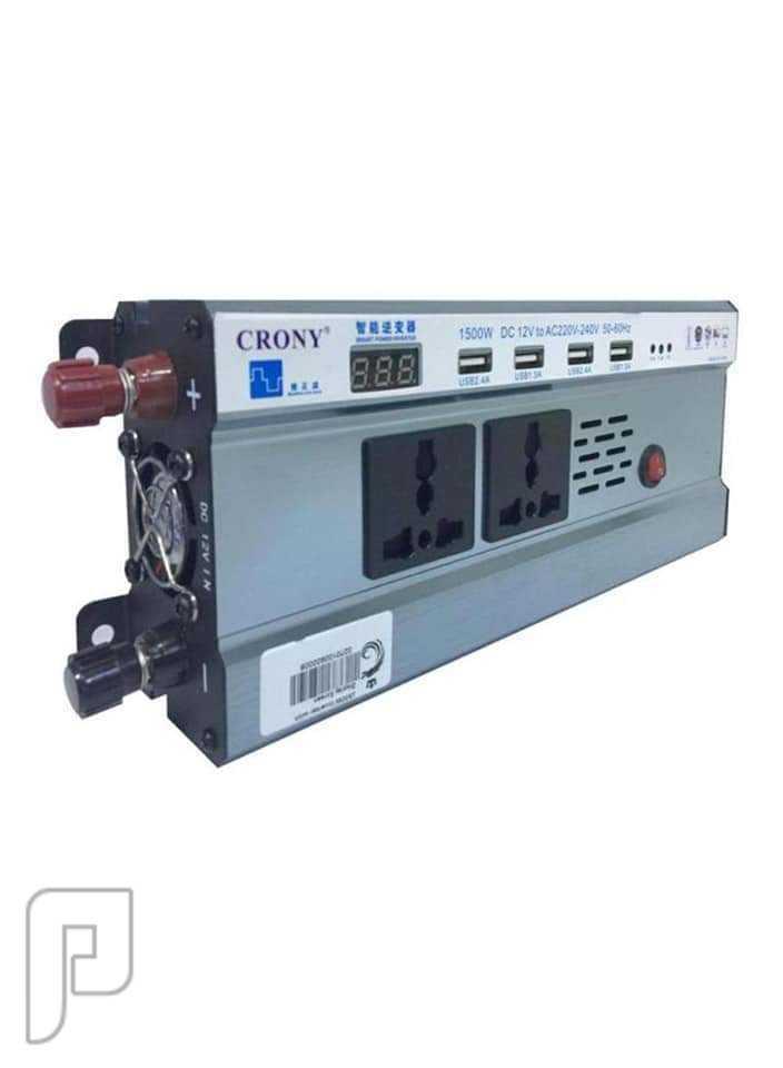 محول كهرباء للسيارة من 12 فولت ل 220