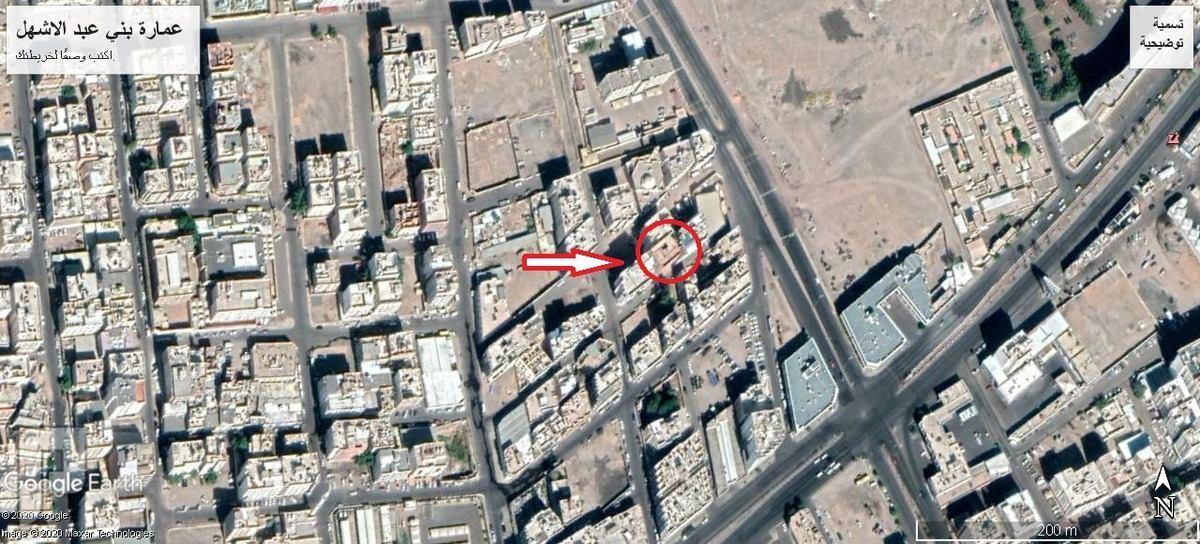 للبيع عمارة عظم م 500م2 , 9 شقق , قريبة للمسجد النبوي . المدينة المنورة