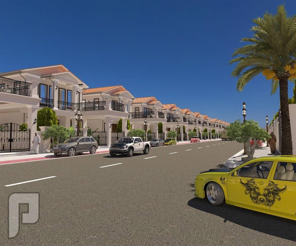 ارض سكنية للبيع بمنطقة فلل راقية فى عجمان الزاهية