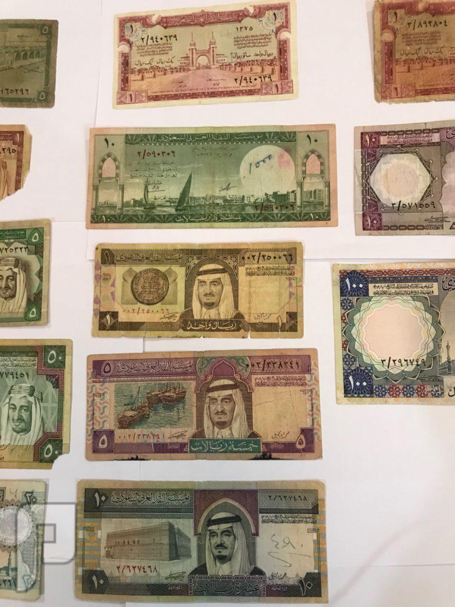 لعشاق التقاسيم الاولية في العملات السعودية عدد 13 عملة