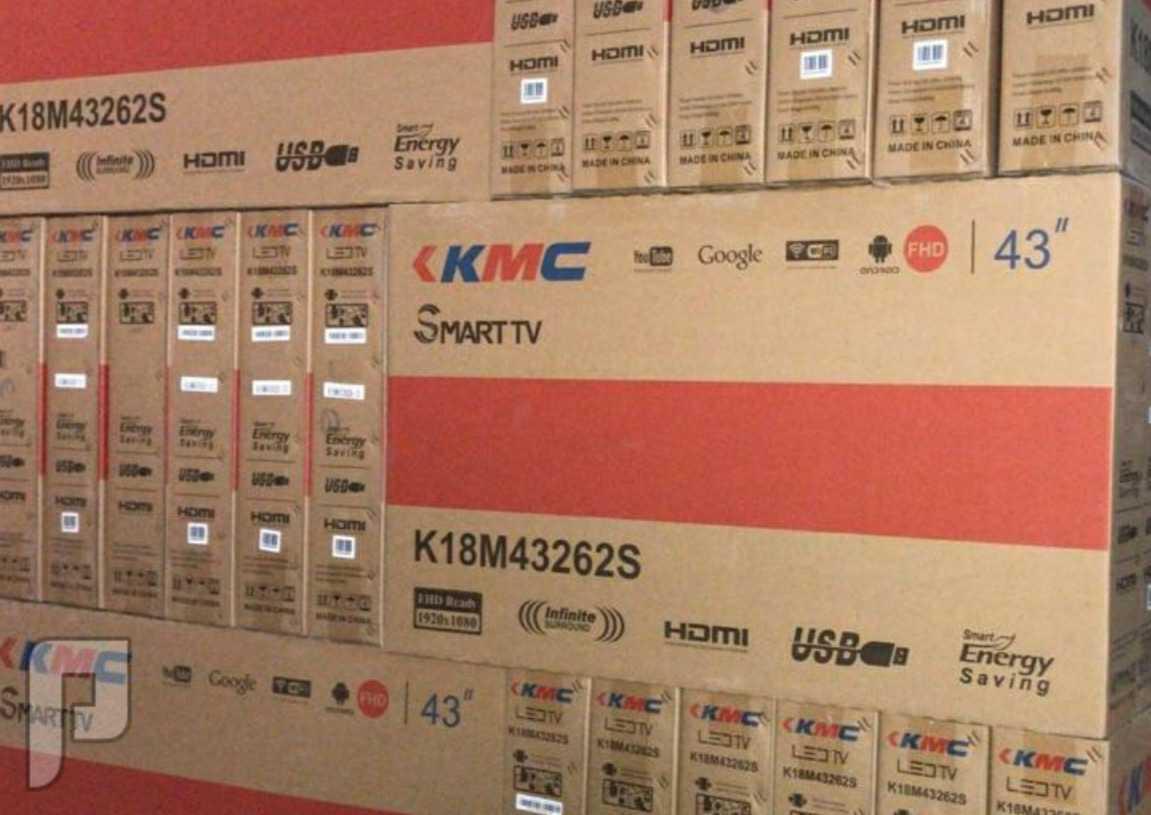 لرياض شاشه KMC سمارت 4k