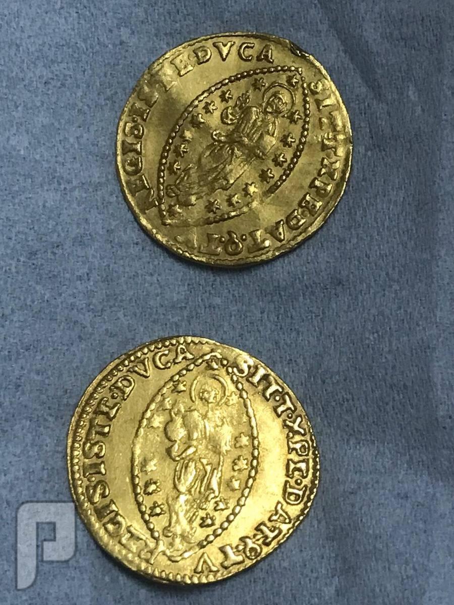 ثلاث عملات ذهبية بيزنطي