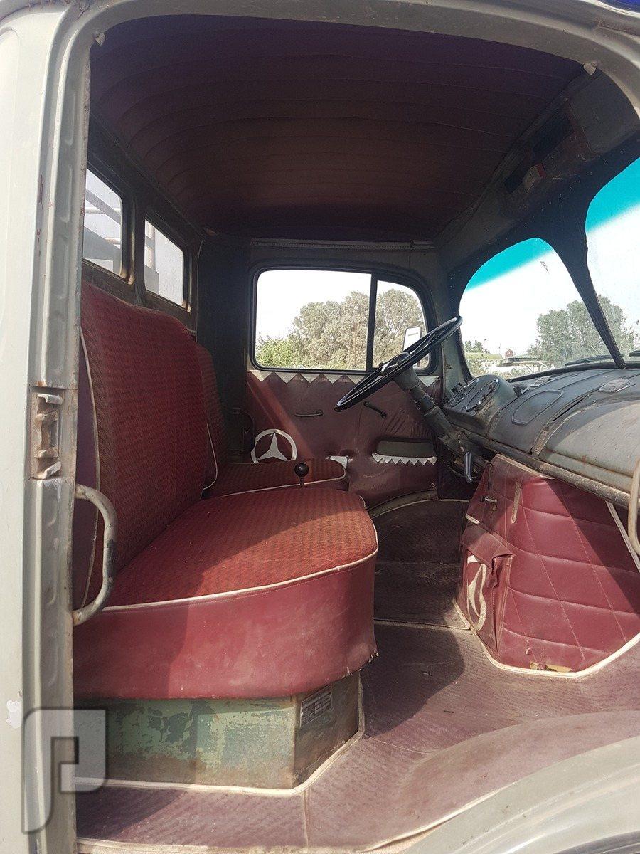 شاحنه وايت مارسيدس بنز حصنيه 1966 للبيع