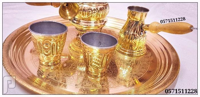 طقم سبرتاية(بابور) مع ركوة نحاسية مميزة جدا