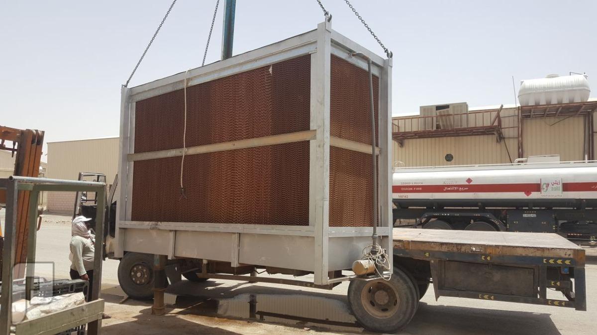 ابراج تكيف صحراوية عملاقة للمستودعات والمصانع