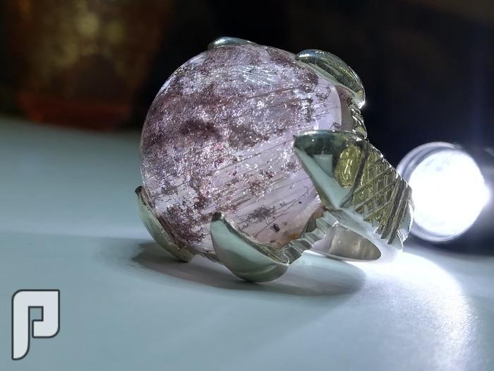 خاتم در نجفي قديم مميز الملبس والنظر