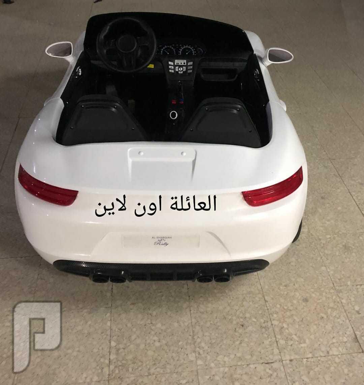 سيارات اطفال فخمه مع انارة اسعار مختلفه حسب مديل