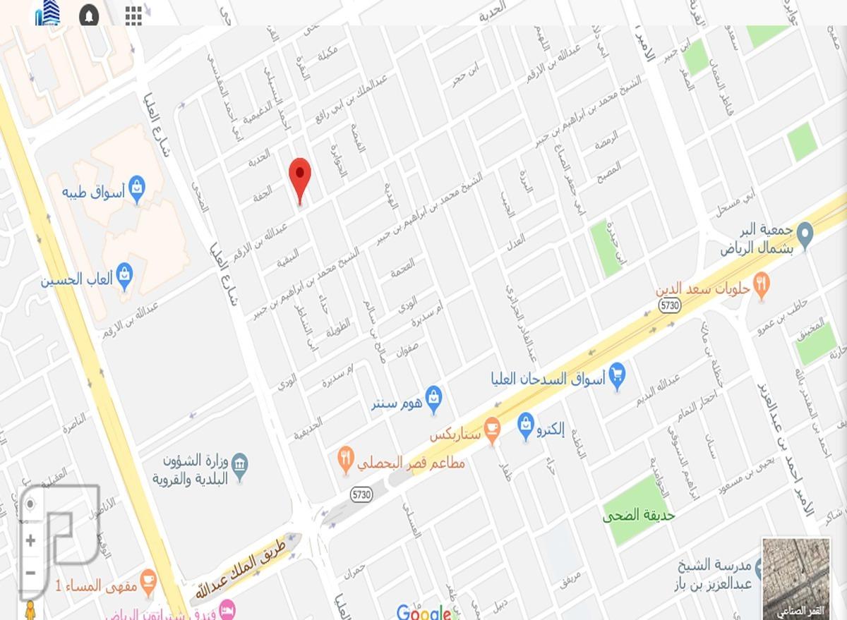 عمارة سكنية للبيع مساحة1710م علي 3شوارع
