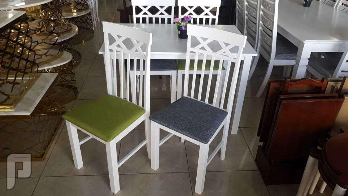 طاولة طعام خشب صناعة ماليزي خامة ممتازة وجودة عالية