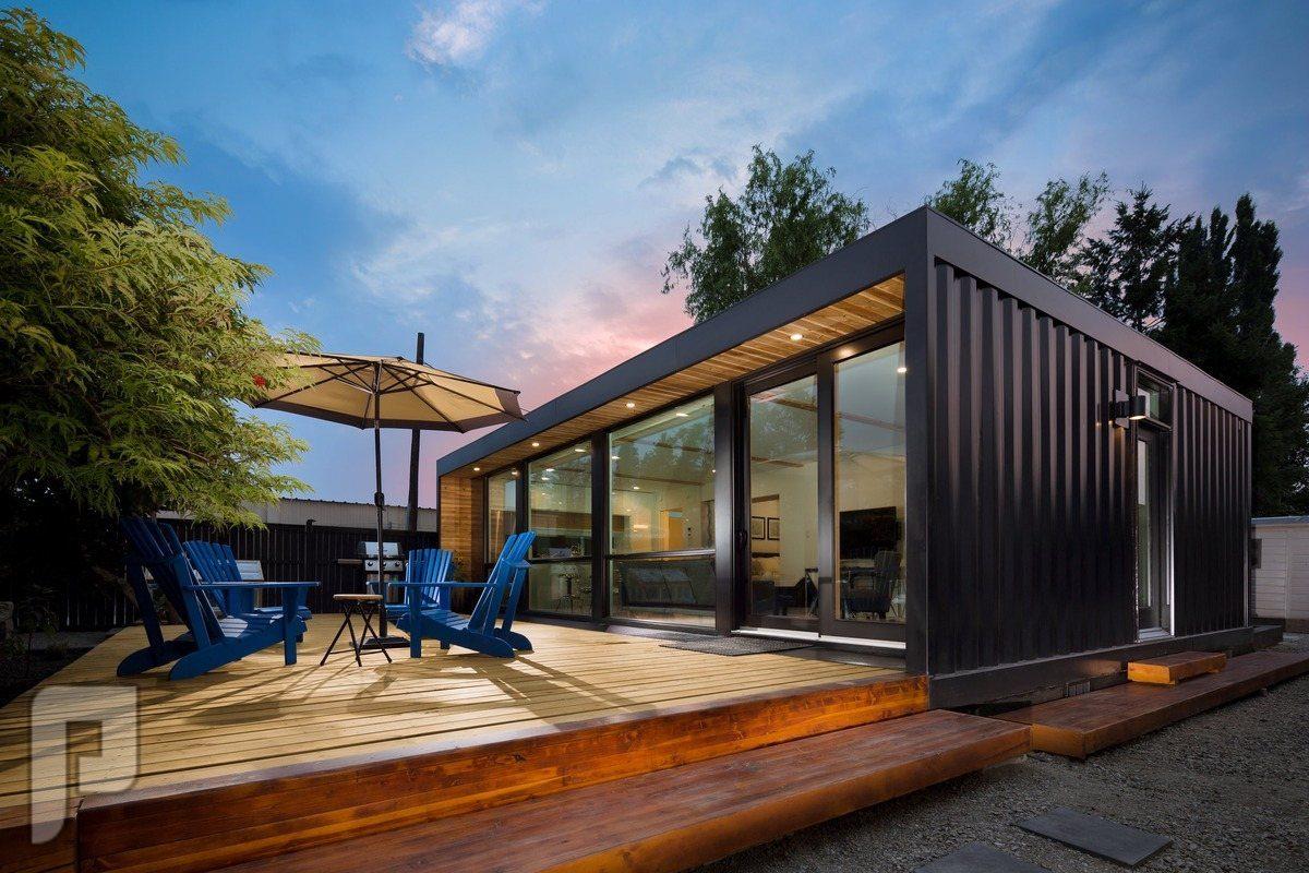 المنازل المتنقلة قليلة التكلفة