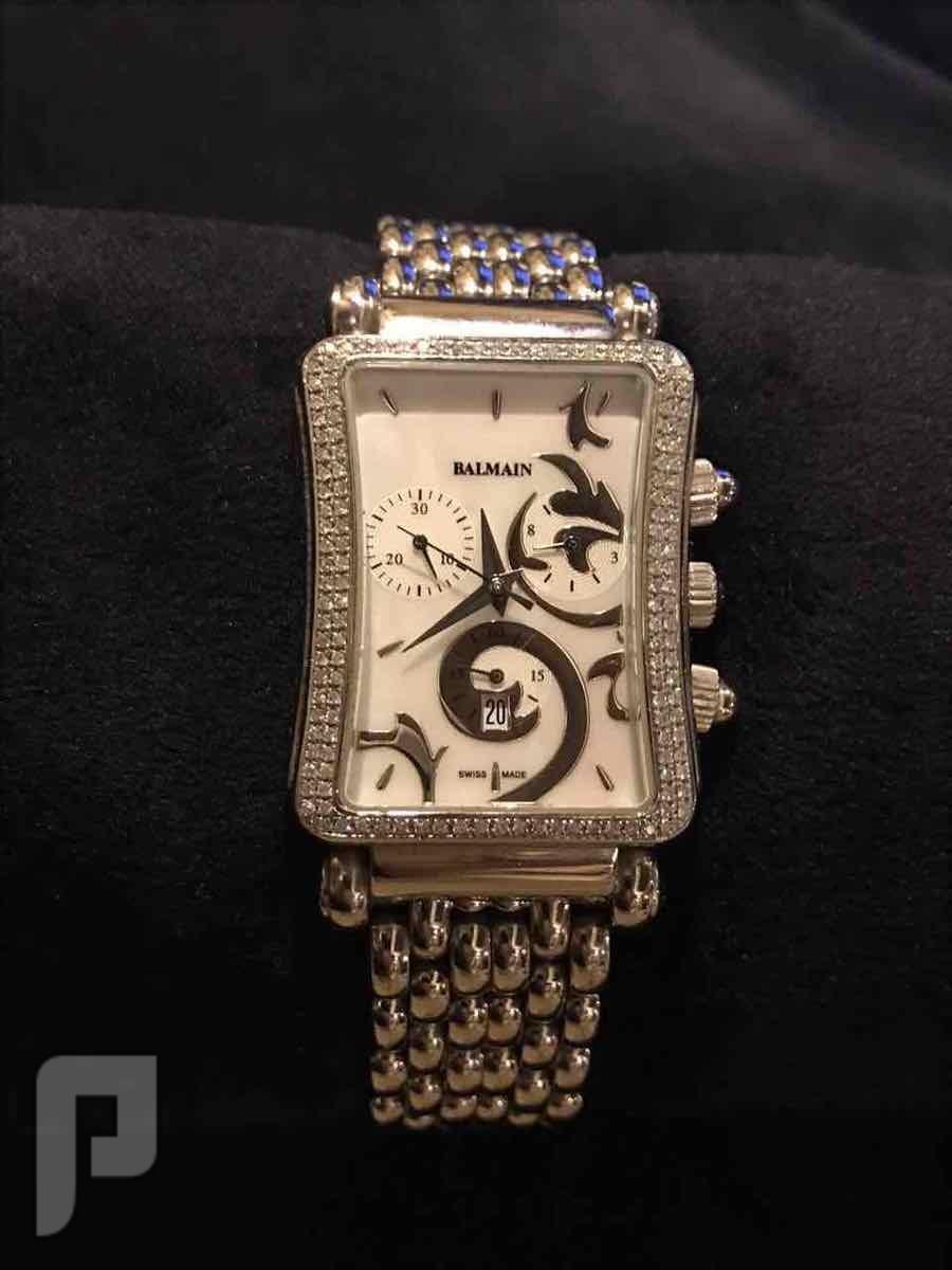 ساعة بالمان الماس الحجم الكبير نظيفه للبيع