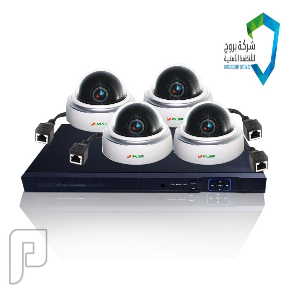 كاميرات المراقبة الخارجية و الداخلية مع تركيب