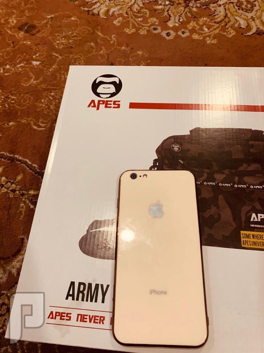 جوال ايفون 6 بلس  + جوال سامسونج نوت 8.