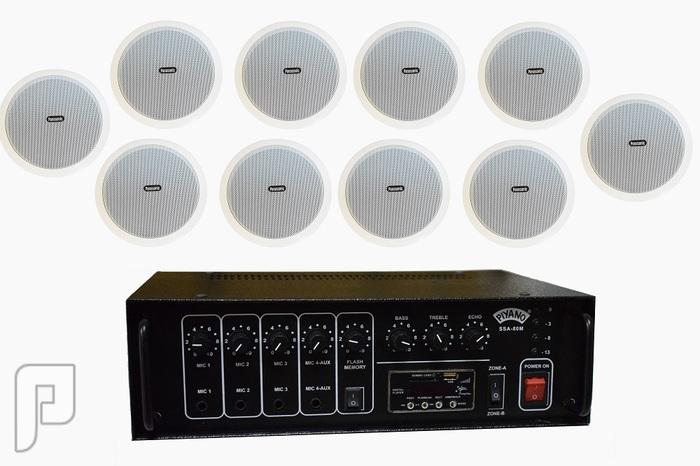أنظمة صوتية وسماعات للقاعات والمنازل والمسارح