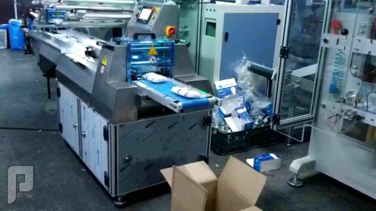 ماكينة تغليف ماسك طبي mask packing machine