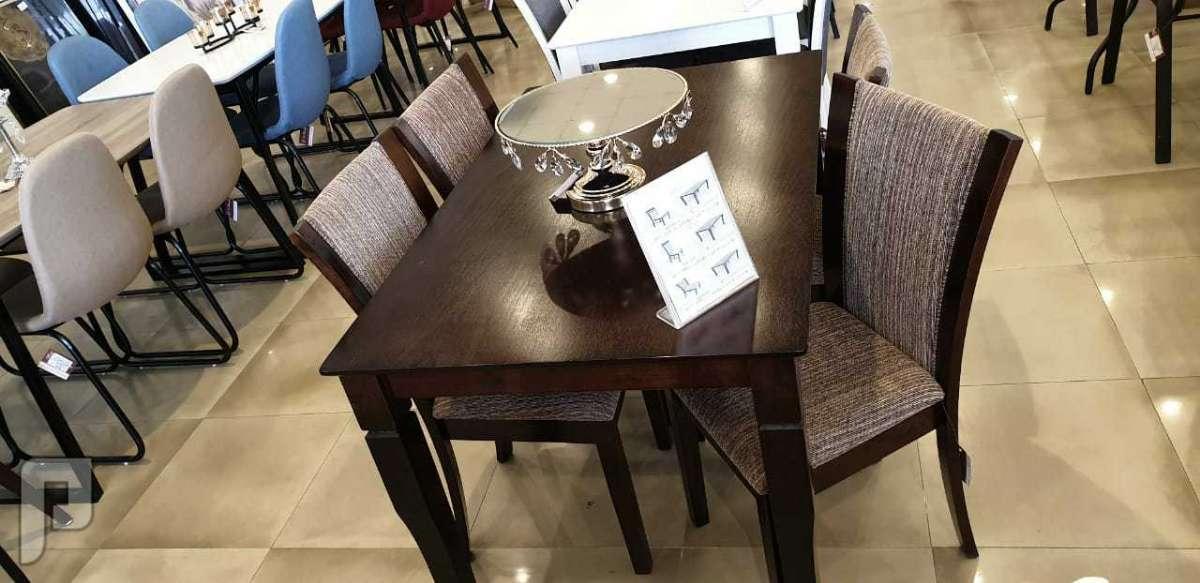 طاولات مميزة خشب وزجاج مقاوم للحرارة 🔥💥