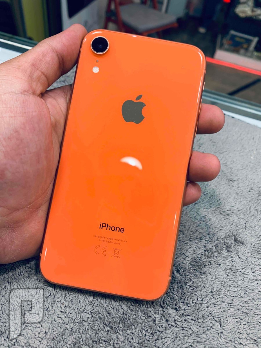 ايفون اكس ار برتقالي