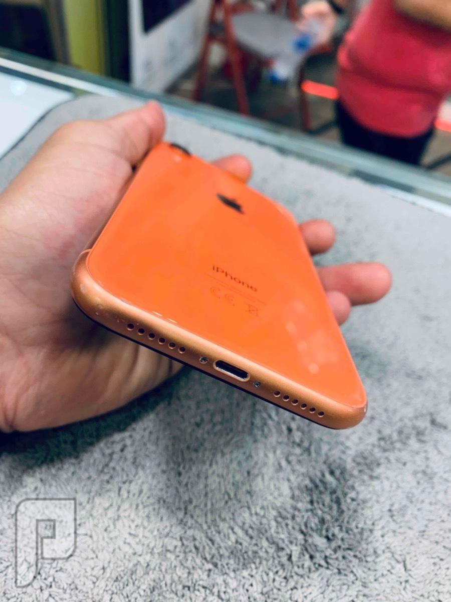 للبيع ايفون اكس ار 128 برتقالي مستخدم