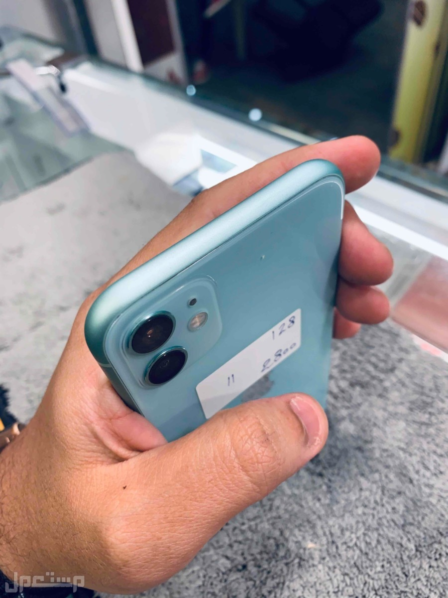 للبيع ايفون 11 مستخدم تيفاني 128