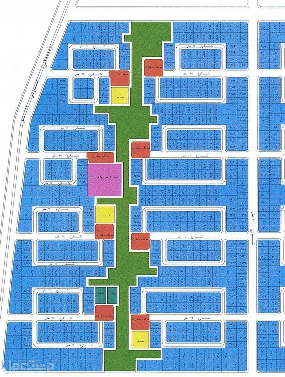 أرض للبيع بمخطط الرياض هـ بجدة مساحة 625 متر