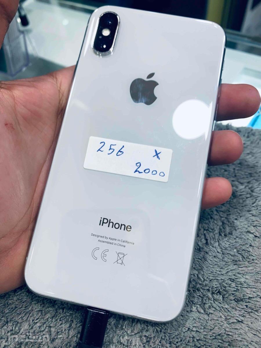 للبيع ايفون اكس 256 مستخدم
