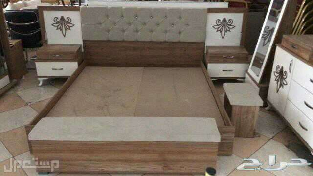 عرض خاص غرفة نوم 9 قطع خامة ممتازة تركية مع مرتبة هدية