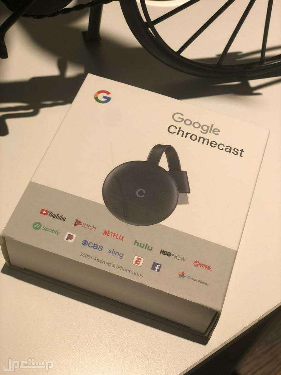 وصلة تلفزيون جوجل كروم كاست الاصدار الثالث (Google Chrome Cast 3)  درجة اول