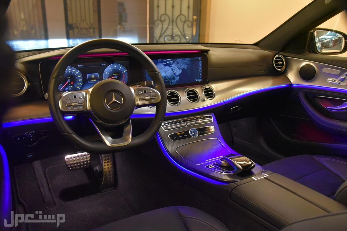 مرسيدس E200 AMG موديل 2019 فل