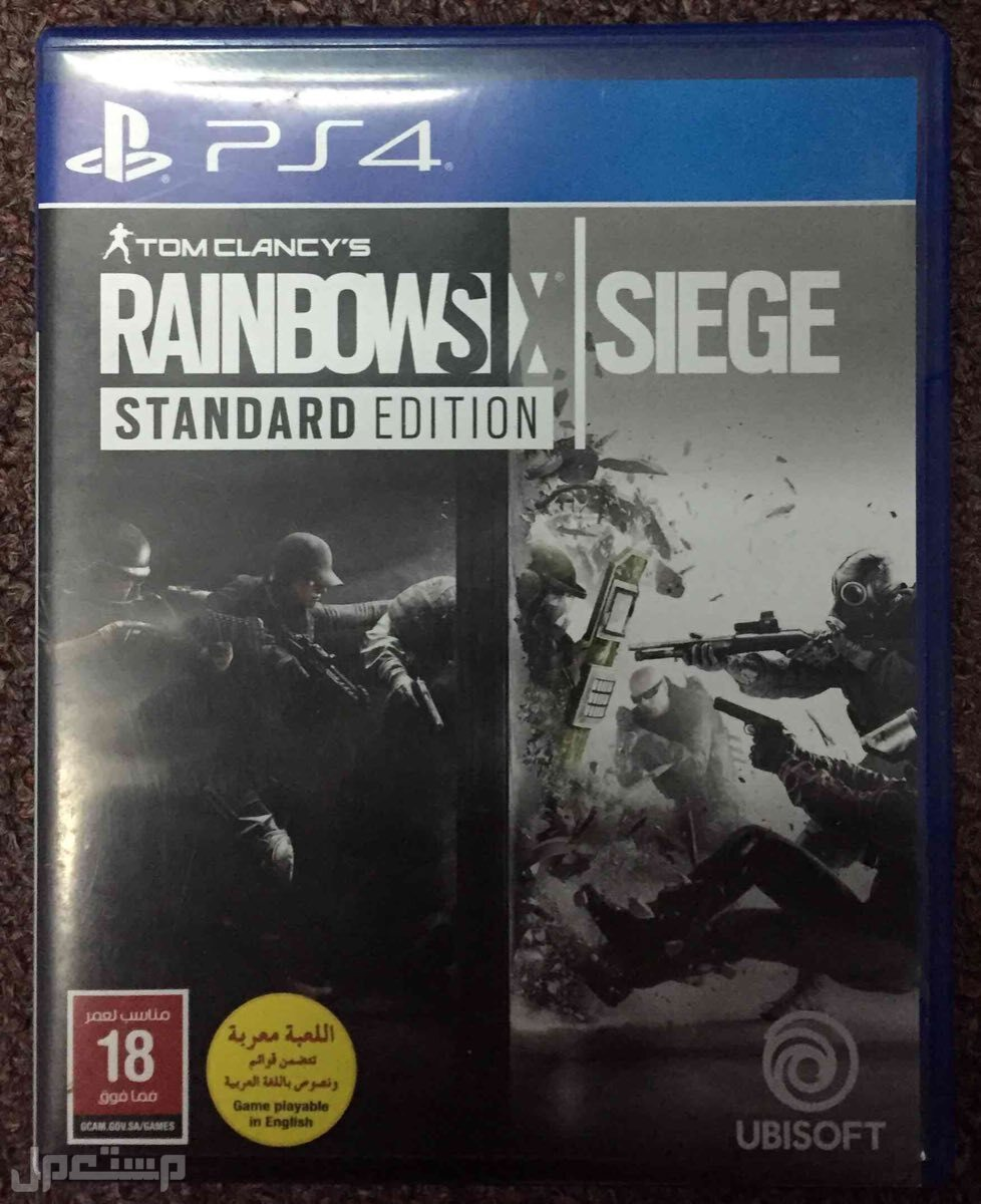 لعبة RAINBOW SIX SIEGE مستعمله