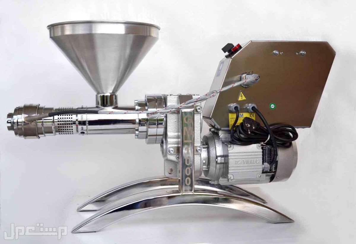 ماكينة استخراج الزيوت من جميع البذور .