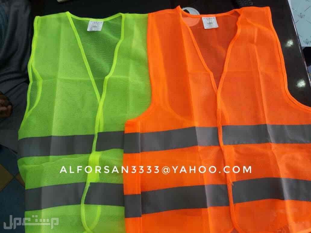 سترة سلامة عاكسة للعمال والمهندسين والمشرفين والمراقبين سترة قماش عاكس