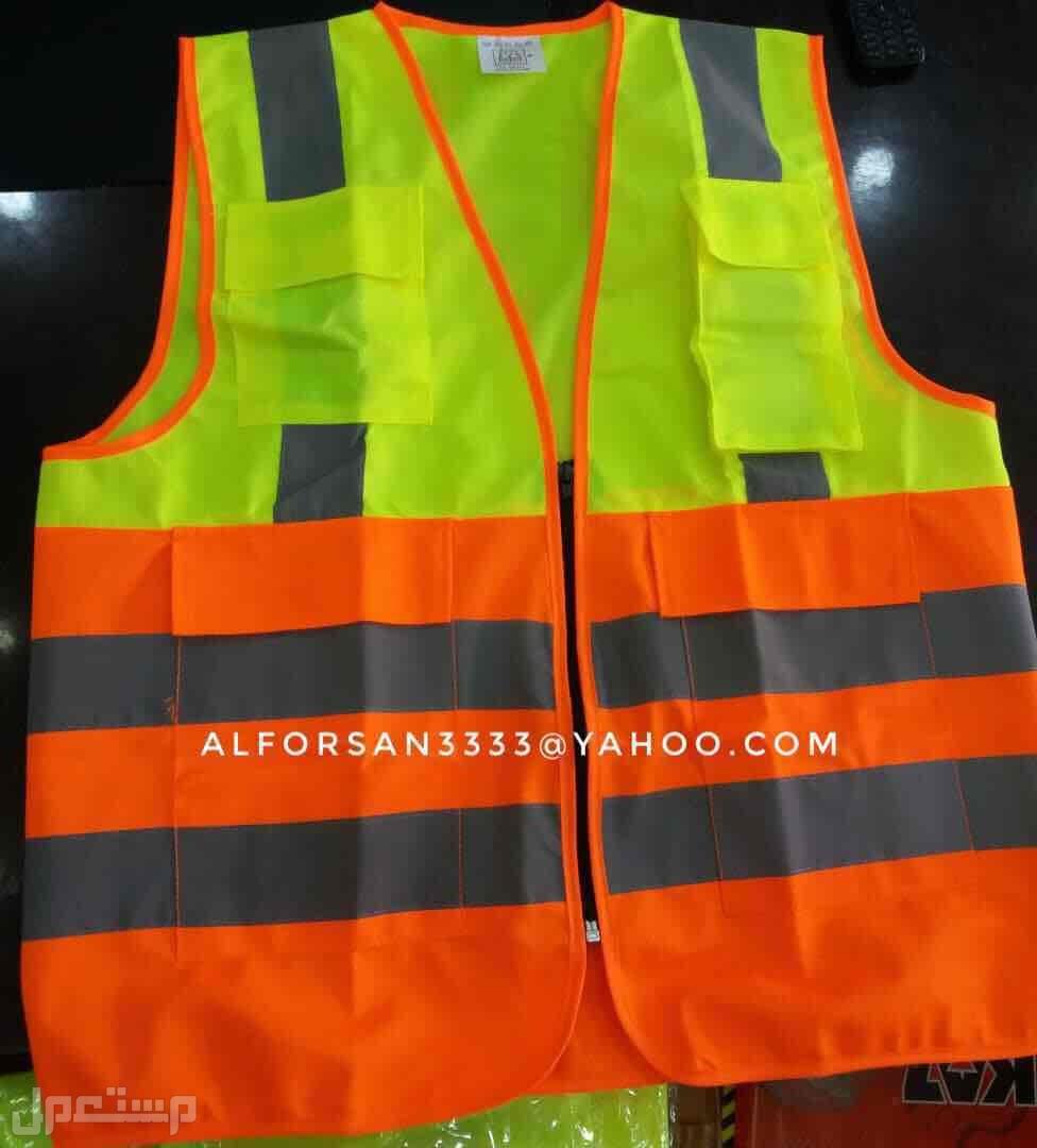سترة سلامة عاكسة للعمال والمهندسين والمشرفين والمراقبين سترة مراقبين و مشرفين