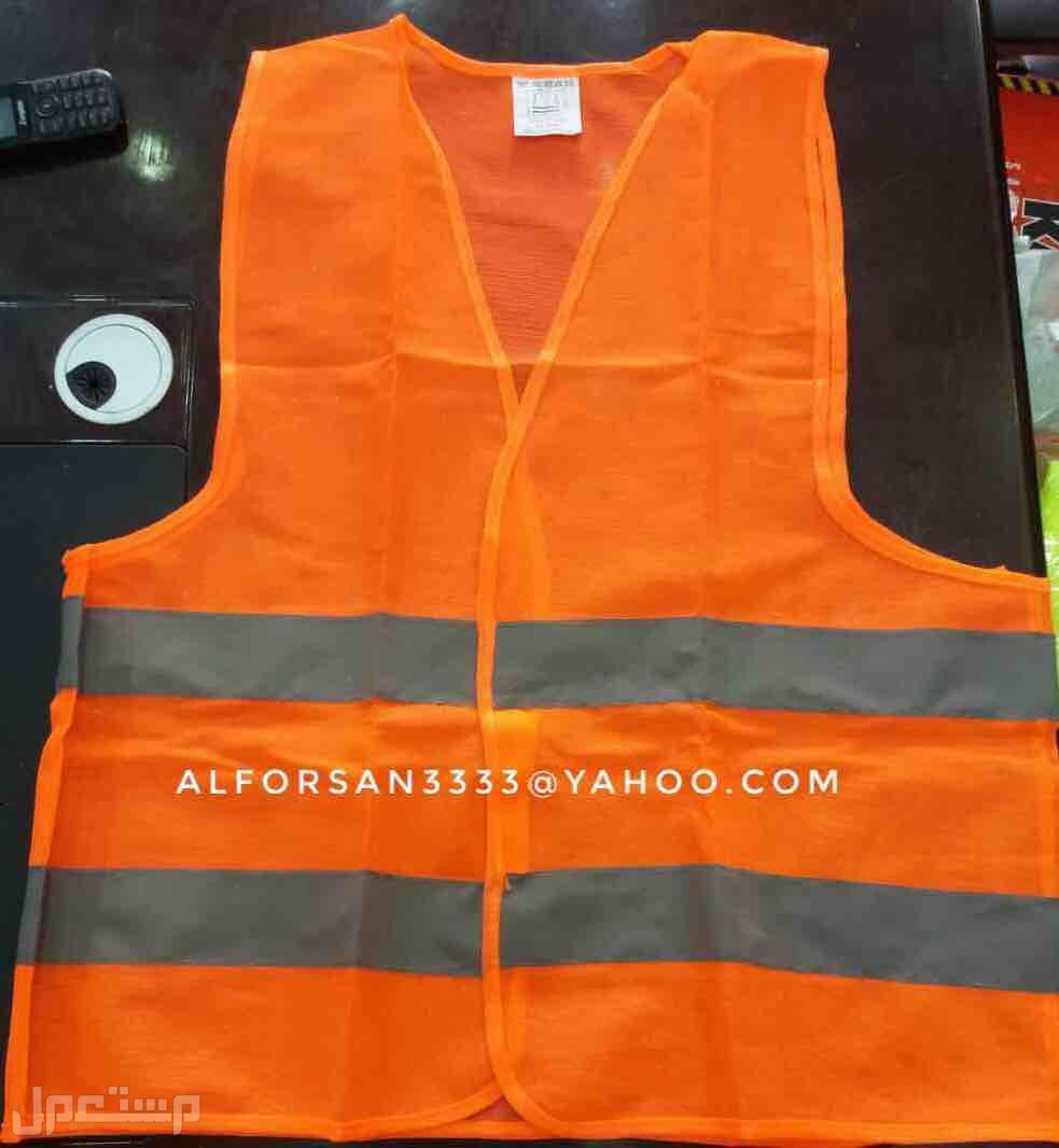 سترة سلامة عاكسة للعمال والمهندسين والمشرفين والمراقبين سترة عاكسة برتقالي