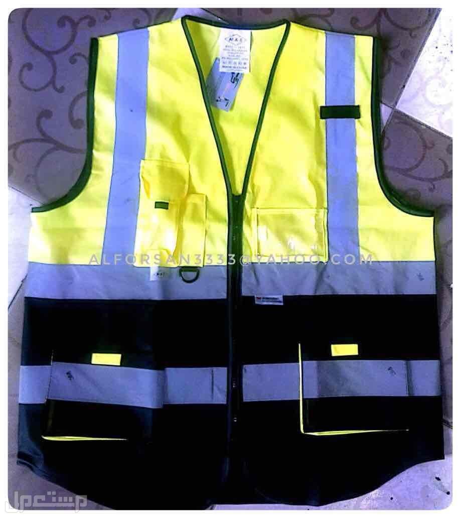 سترة سلامة عاكسة للعمال والمهندسين والمشرفين والمراقبين سترة مهندسين
