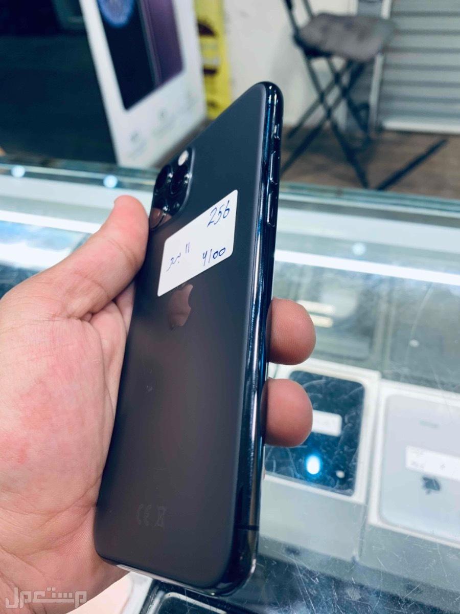 للبيع ايفون 11 برو اسود 256 مستخدم